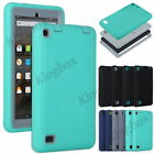 Hybrid Heavy Duty Shockproof Armor Case Cover For Amazon Fire 7 Tablet HD 8 HD10