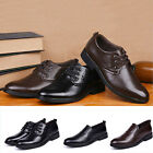 Men's casual Flats Leather Shoes Lace Up Dress/Formal business Oxford Classic