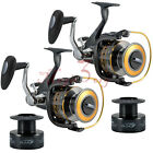 2X Spinning Fishing Reels Saltwater Bait feeder 11BB 551 Surf Kayak Bass Spare