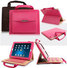 Luxury PU Leather Handbag Wallet Case Stand Cover For iPad Mini / iPad Air / Pro