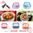 Portable Electric Heated Heating Lunch Box Bento Travel Food Warmer 12V/110/220V
