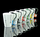 6 Choices Guitar Electric Bass Music Stave Coffee Cup Mug Espresso Coffee set