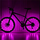 Waterproof Colorful 20 LED Bicycle Lights Bike Lamp Cycling Wheel Spoke Light ES