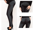 MATERNITY PREGNANCY SKINNY DENIM TROUSERS WITH ELASTIC STRETCHY SIDE COMFORT