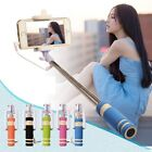 Mini Monopod Selfie Stick Telescopic Bluetooth Wired Remote Mobile Phone holder