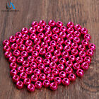 Maxcatch Pink/Purple Fly Tying Beads Tungsten Beads Nymph Head Ball Beads