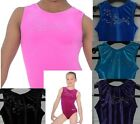 GYMNASTICS LEOTARD / LEOTARDS ZONE FANFARE  AGES  3 - 15  SEVERAL COLOURS