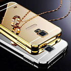 new Luxury Mirror Back Cover Metal Aluminum Frame Case for Samsung S5mini