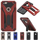 Hybrid Stand Rugged PC+TPU Silicone Back Case Cover For iPhone 5S 6 6S 7 Plus SE