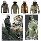 Men's Military Camouflage Tactical Sport Waterproof Soft Field Army Jacket Coat