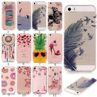 Ultra Thin Shockproof Clear Soft Silicone TPU Rubber Gel Case Cover For Phones