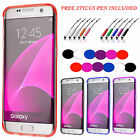 S-Line Back Case Soft Gel  Silicone Slim Grip Cover For  Samsung Galaxy S7 Edge
