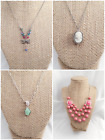 4 Different Unique Vtg-Now Designer Jewelry Zau 1928 NWT FIREFLY Necklaces