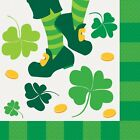 St. Patrick's Day JIG Napkins choose Beverage or Luncheon