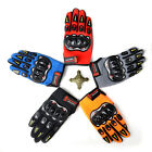 Sports Full Fingers Racing Motorcycle Gloves Cycling Bicycle Bike Riding Gloves