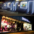 US 10FT-20FT 5050 LED Module Club Store Front Lights Window Sign DIY+Remote+Plug