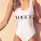 2017 VOGUE ONE PIECE HIGH CUT BODYSUIT CALI CALIFORNIA BATHING SUIT SWIMSUIT NEW