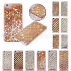 Pattern Shaped Sparkle Star Liquid Soft TPU Skin Case For iPhone 6/6S / 7 Plus