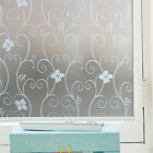 17.7''*78.7'' Privacy Window Film Frosted Static Cling Glass Films Decorative