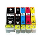 NON-OEM Ink Cartridge Replace For Epson 33XL T3351-T3364 33XL Printer