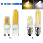 G9 E14 2W 4W Filament COB Bulb 110 220VDimmable Epistar LED Chandelier Corn Lamp