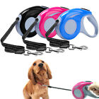 5M/16ft Retractable Dog Leads Extendable Automatic Small Large Pet Puppy Leash