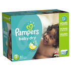 Pampers Baby Dry Diapers Size N, 1, 2, 3, 4, 5, 6 CHEAP!!!