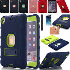 Hybrid Shockproof Heavy Duty Rubber Stand Case Cover For Apple iPad Mini 1/2/3