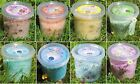 ASSORTED BATH SALT TUBS 450g WITH ESSENTIAL OILS & FLOWERS