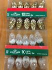 Kurt Adler Pine Cone Novelty Lights - Gold And Frosted Styles Available *$*