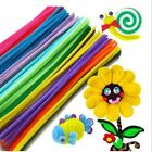 23Color Kids Educational Toys Craft Twist RodsChenille Stems Pipe Cleaners B106B