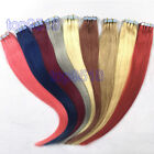 20pcs PU Seamless Skin Tape in Weft Ombre Remy Human Hair Extensions Straight