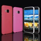 For HTC ONE M8 M8 mini M9 M9 Plus ULTRA THIN Silicone Soft Cover Phone Back Case
