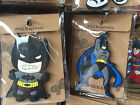 Lot Cartoon batman Rubber Keyrings Key Chain Charm Pendant Party Favors