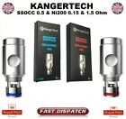 GENUINE KANGERTECH SSOCC 0.2 Ω 0.5Ω,1.2Ω & 1.5Ω REPLACEMENT COIL WITH CODE
