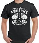 D2SP This Is What An Awesome Uncle Looks Like Mens Funny Fathers Day T-Shirt