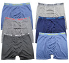 Lot 3-6 Mens Boxer Short Underwear Trunk Bulge Cotton Briefs Stretch Size S-2XL
