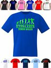 Evolution Zombie Killer Gamer T Shirt Mens And Womens