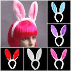 Cute Easter Bunny Rabbit Ears Headband Dress Up Girls Costume Party Wear 6 Color
