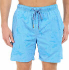 New TOMMY BAHAMA Naples Captain Jacquard BLUE small medium XL swim trunks