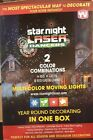 As Seen On Tv Star Night Laser Dancers Multi-color Moving 3d Holographic Light