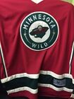 Minnesota Wild 11 Zach Parise Mens Hockey Jersey