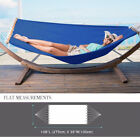 Double Hammock with Spreader Bar Hang Bed Outdoor Patio Yard Heavy Duty Fabric cheap