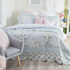 New Aspire Caroll Light Blue Coverlet Set