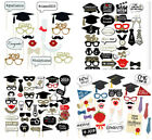 photobooth mustache - 2018 Students Graduation Grad Party Masks Photo Booth Props Mustache US SHIP