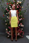 Ministry of Style by Bebe Sydney Oppose Fitted Dress - Lemon/Ice