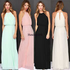 Women's Bridesmaid Evening Gown Formal Party Prom Dress Long Maxi Dresses