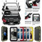 FAST SHIPPING WATERPROOF GORILLA GLASS FULL METAL CASE FOR APPLE IPHONE 5 5S SE