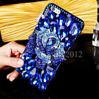 Rhinestone Bling Diamond Luxury Deco 3D For iPhone 5/6/7 Plus Crystal Case Cover