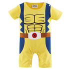 Baby Boy Wolverine Costume Romper Infant X-Men Playsuit Newborn Halloween Outfit